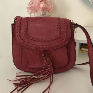 Crossbody Synthetic Leather Bag